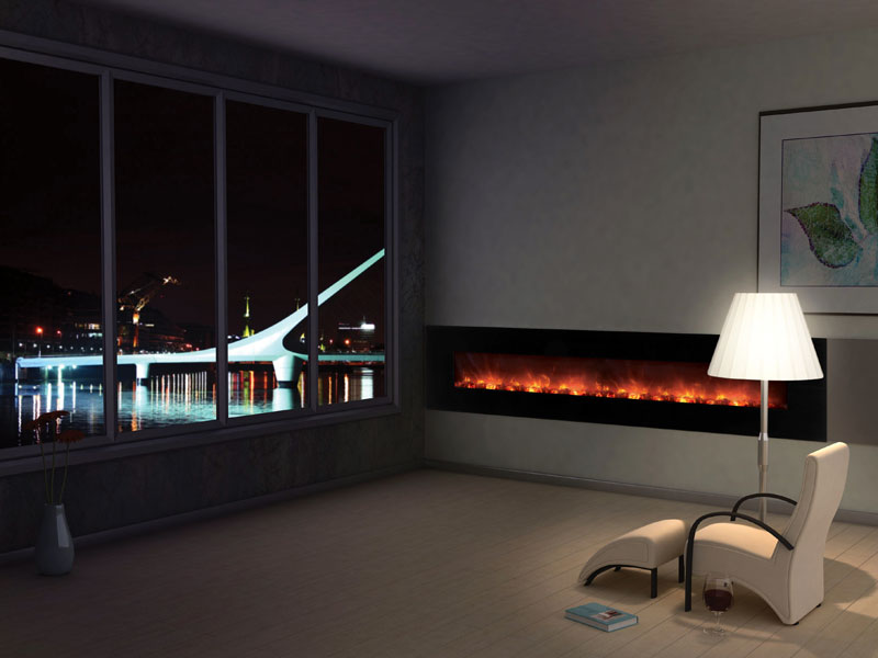 Residential - Photo Gallery Modern Flames