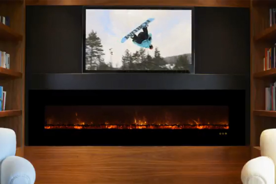 A LED electric fireplace has less maintenance and initial cost. - Benefits Of A LED Electric Fireplacele
