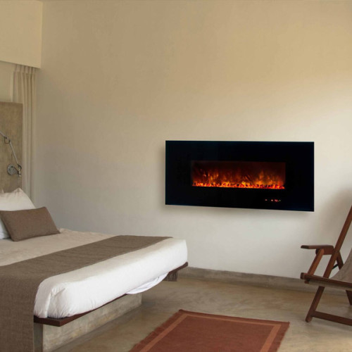 Blog modern flames for Bedroom electric fireplace