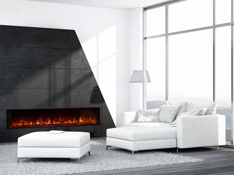 lfv28015sh - Modern Electric Fireplace