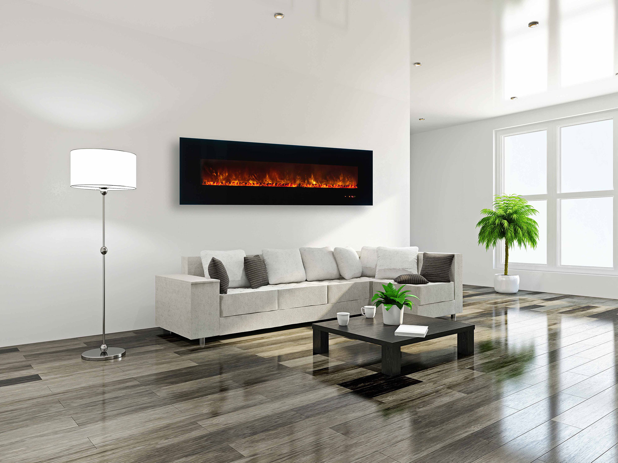 photos electric the amazing with design modern gallery tv fireplace of