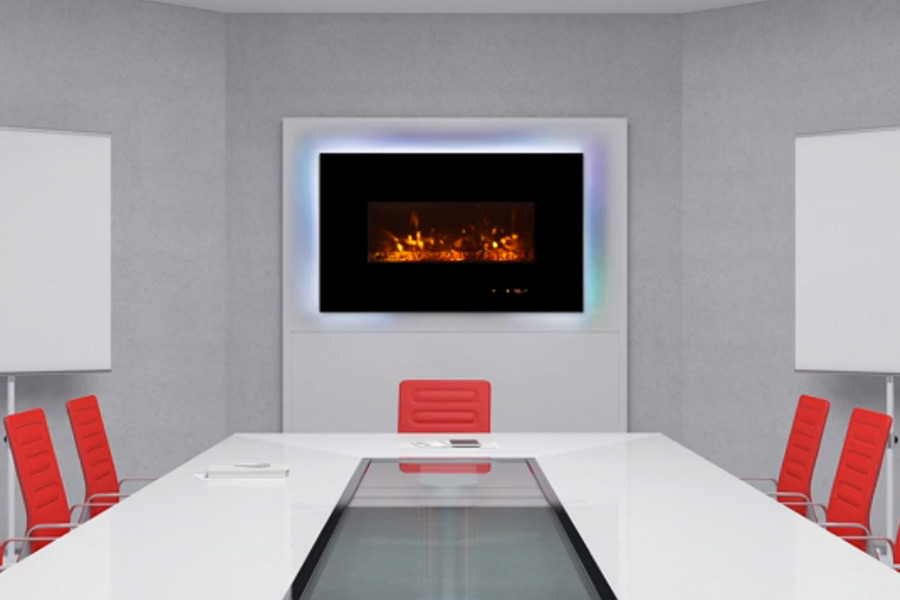 The Virtues of a LED Fireplace