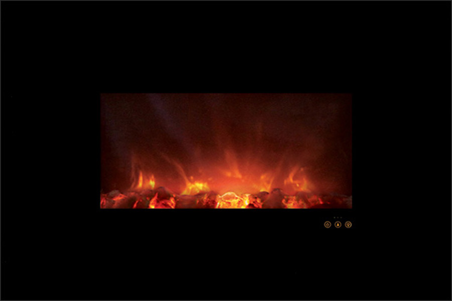 All you need for the best electric fireplace to start generating electricity is to plug in the device in the electric outlet