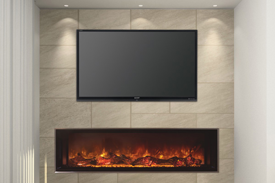 Best Electric Fireplace Modern Flames