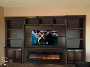 Electric Fireplace TV Stand cabinet