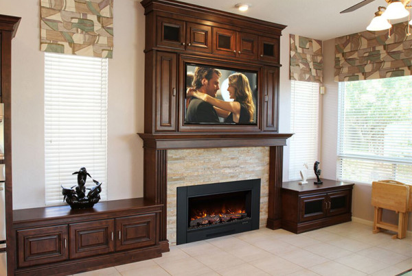 Built in fireplace disitributor located in Phoenix