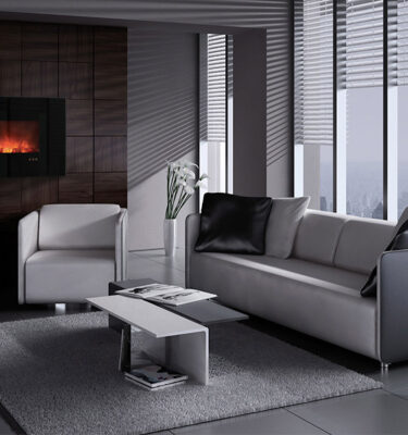 Modenr Electric Fireplace
