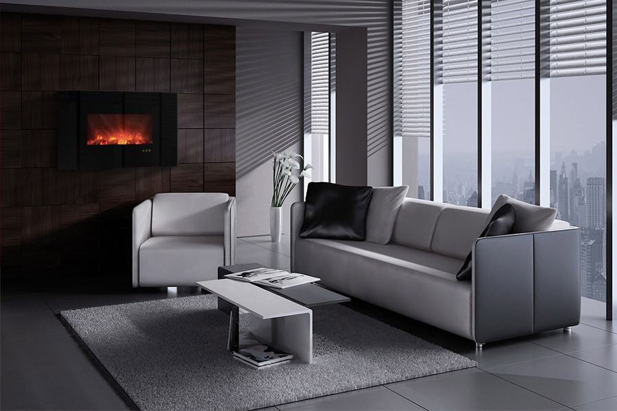 Bring An Amazing New Look To Your Home With A Contemporary Electric Fireplace