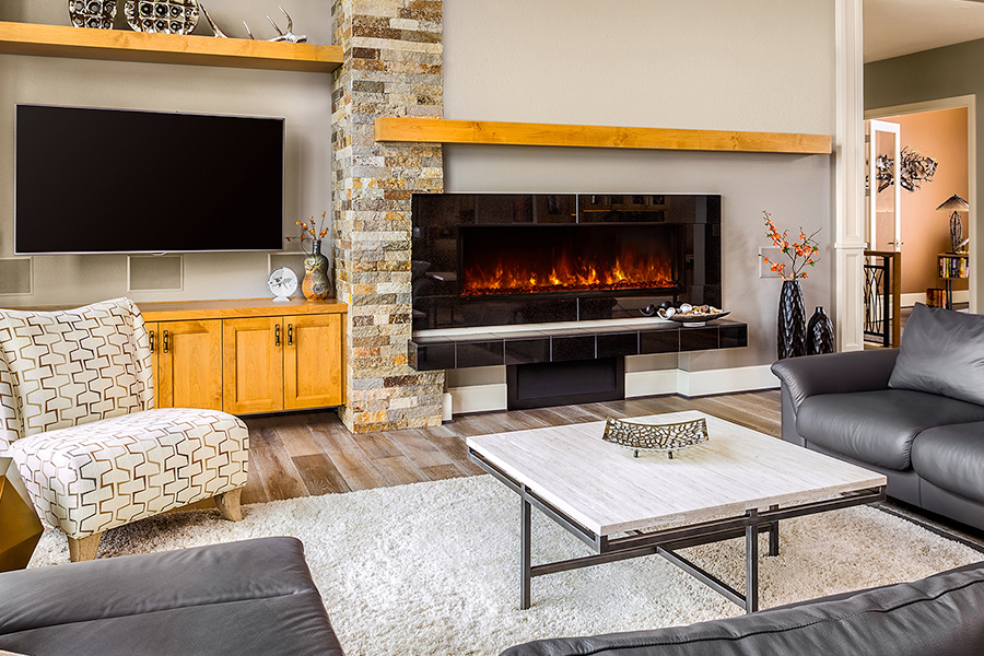 NetZero Electric Fireplace – Complying with California's Goals