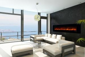 modern electric fireplace 2