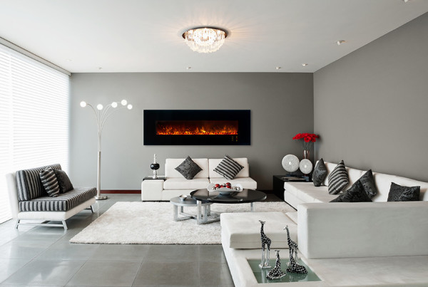 Looking for electric fireplaces with a modern/contemporary look? Watch them burn and request a free quote today! Installation is easy.