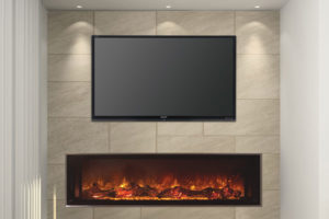 Electric Fireplace TV Stand 3
