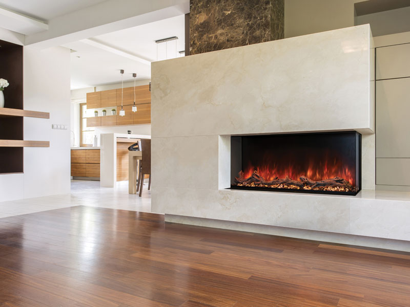 Landscape Pro Multi-Sided Built In Electric Fireplace